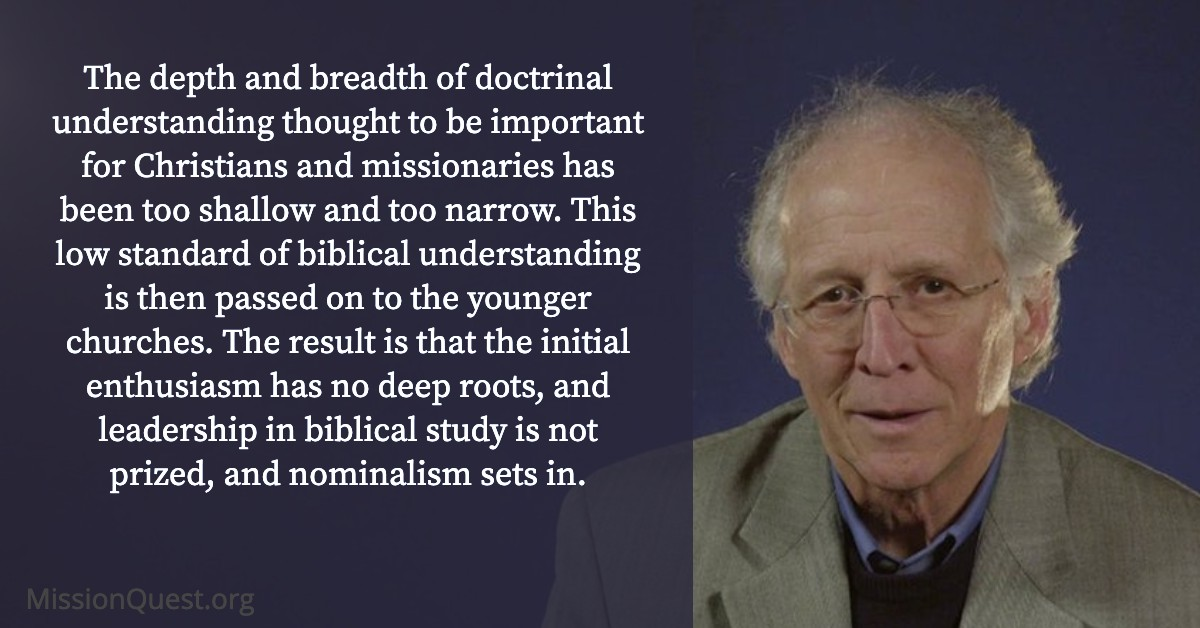 John Piper on missionary agency